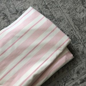 Pottery Barn Kids striped curtains